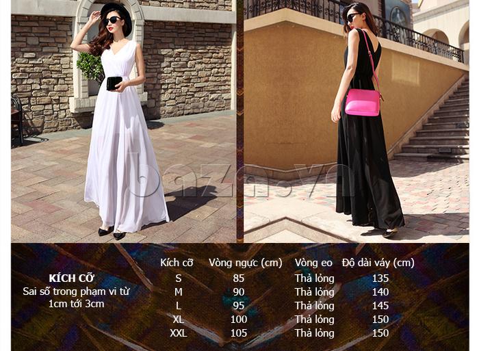 Váy maxi nữ dáng dài Jiumeixuehu JMXHLYQ22 đẹp