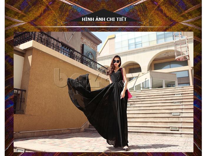 Váy maxi nữ dáng dài Jiumeixuehu JMXHLYQ22 độc