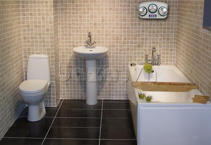 Đèn sưởi điều khiển từ xa Fami Lamp  cho người dùng yên tâm khi đi tắm