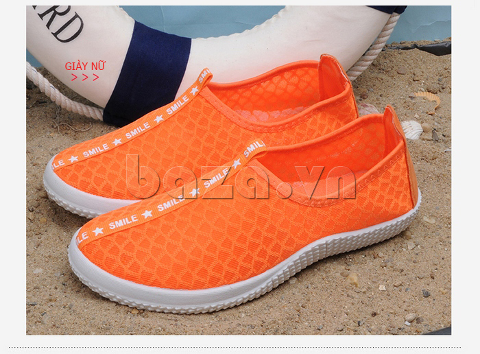 Giày lưới phong cách thể thao Wadnaso sắc màu nổi bật
