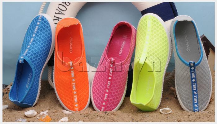 Giày lưới phong cách thể thao Wadnaso đa dạng màu sắc