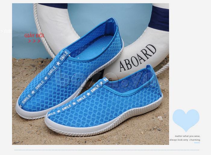 Giày lưới phong cách thể thao Wadnaso phóng khoáng