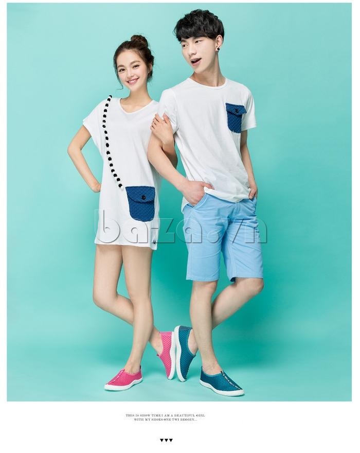 Giày lưới phong cách thể thao Wadnaso - giày nam nữ cá tính