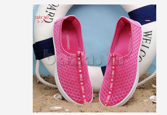 Giày lưới phong cách thể thao Wadnaso màu sắc đáng yêu