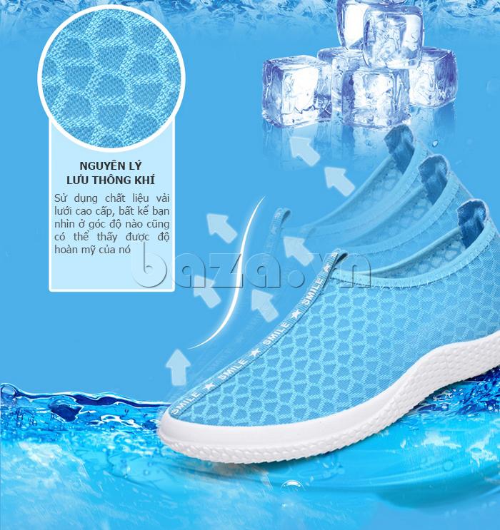 Giày lưới phong cách thể thao Wadnaso bền đẹp