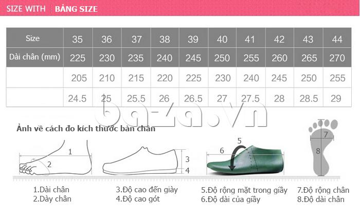 Giày lưới phong cách thể thao Wadnaso dễ đi