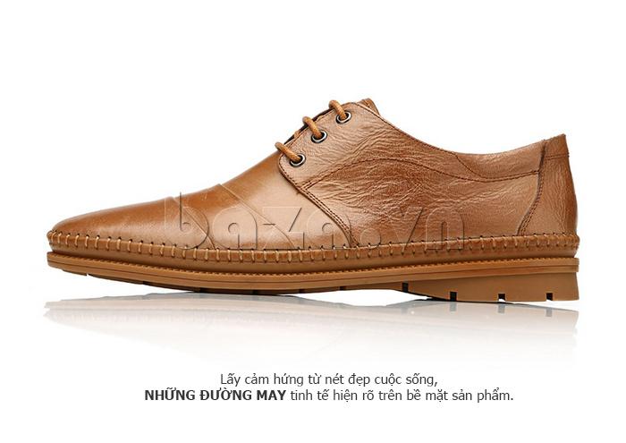 Giày da nam Olunpo QABA1410 thiết kế thời trang