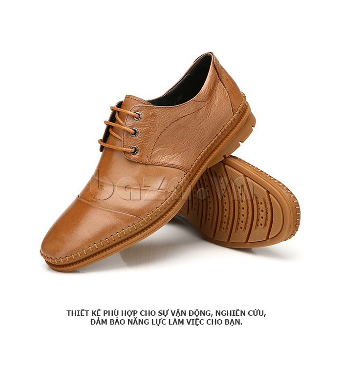 Giày da nam Olunpo QABA1410 thời trang