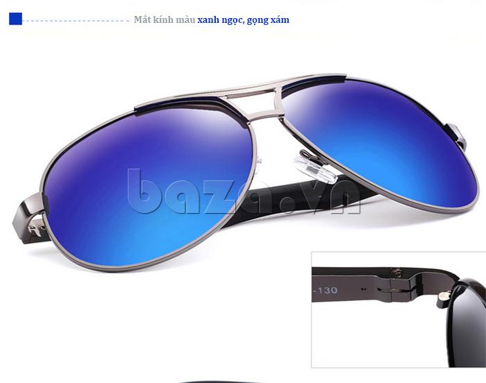 Kính nam Q&J 8005 - màu xanh