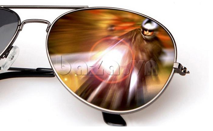 Kính nam Q&J 8005 - kính tráng gương