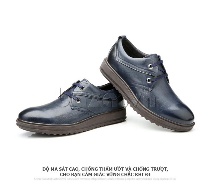 Giày da nam Olunpo QZK1404 có độ ma sát cao