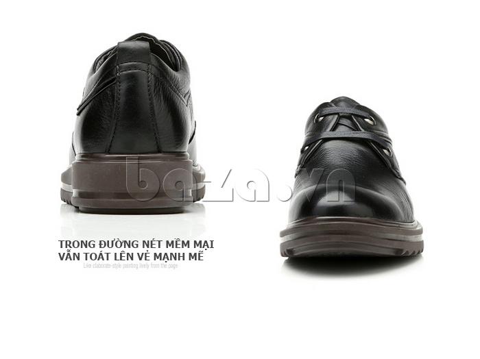 Giày da nam Olunpo QZK1404 toát lên vẻ đẹp nam tính