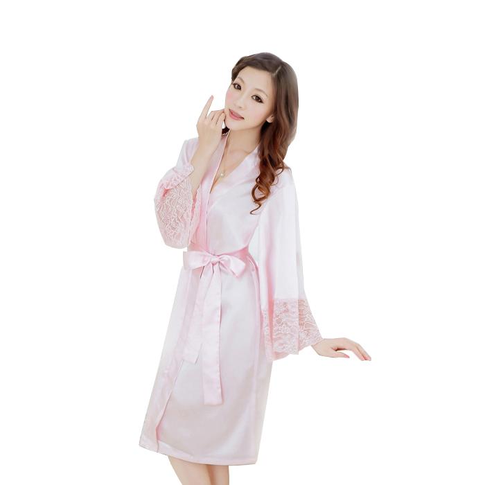 bộ đồ ngủ áo choàng nữ Hamuse có tay - cho chàng đắm say