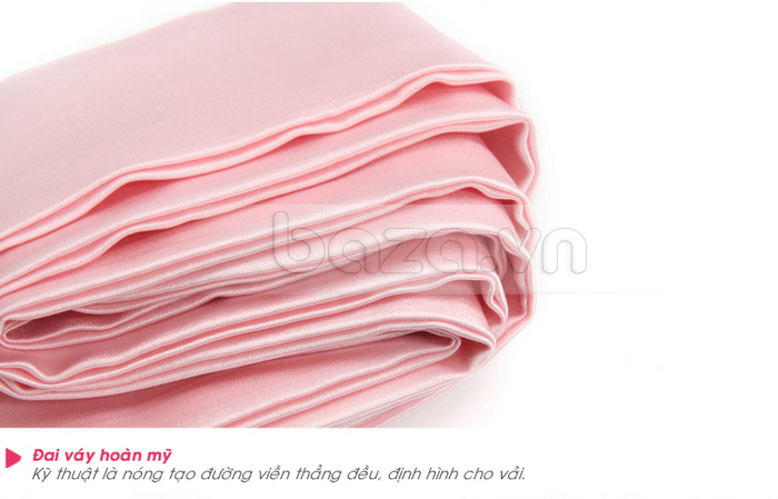 bộ đồ ngủ áo choàng nữ Hamuse có tay - đai váy hoàn mỹ