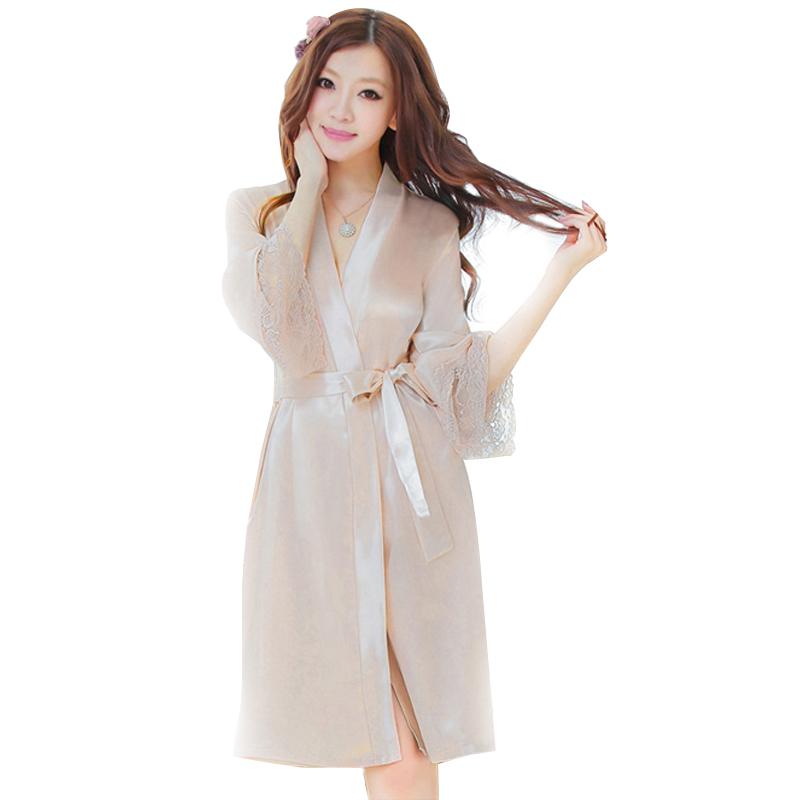 bộ đồ ngủ áo choàng nữ Hamuse có tay - ngất ngây khoái cảm