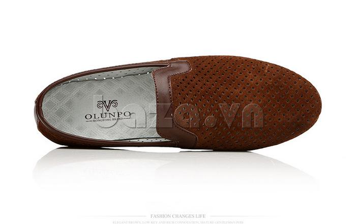 Giày nam Olunpo XMB1501 thiết kế thoáng mát