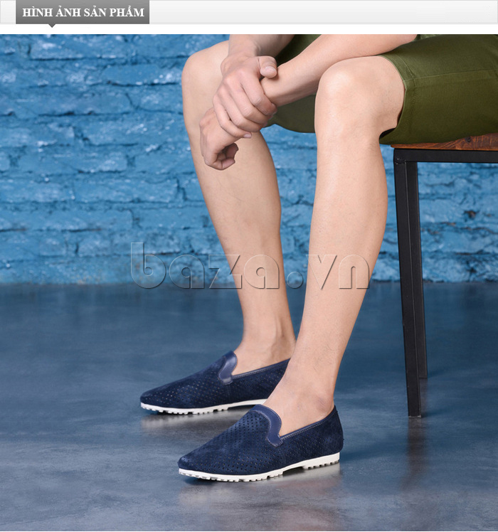Giày nam Olunpo XMB1501 tinh tế