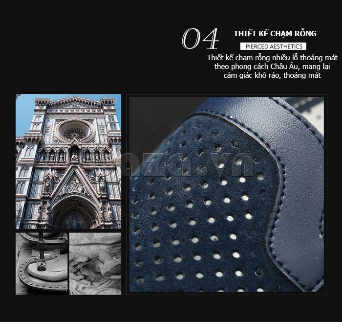 Giày nam Olunpo XMB1501 độc đáo