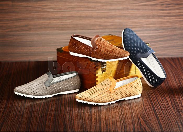 Giày nam Olunpo XMB1501 dễ chịu