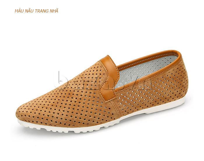 Giày nam Olunpo XMB1501 thiết kế đế cao su cao cấp