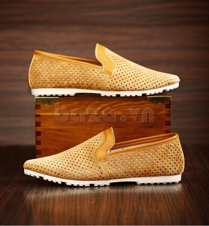 Giày nam Olunpo XMB1501 vàng