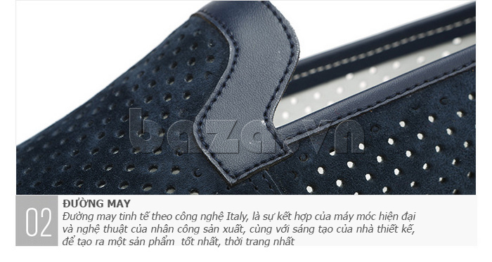 Giày nam Olunpo XMB1501 thiết kế bền
