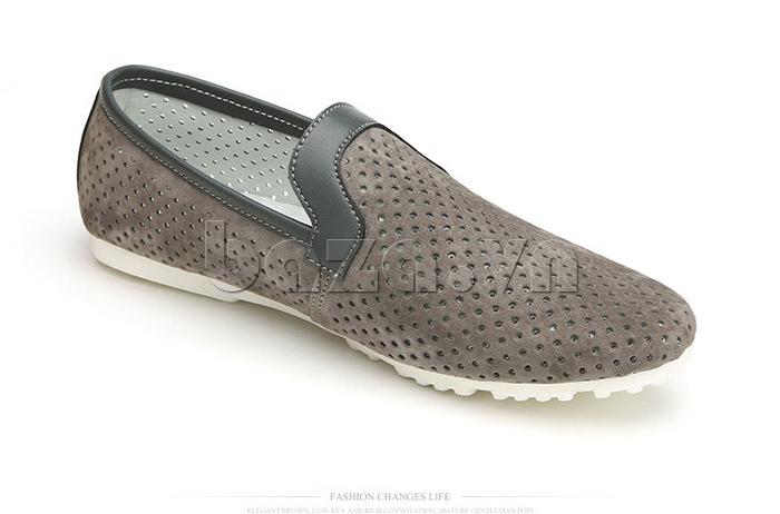 Giày nam Olunpo XMB1501 da nhung
