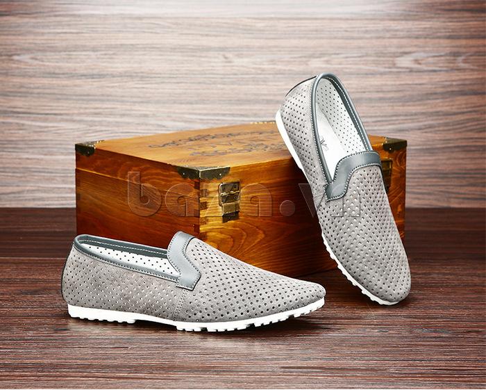 Giày nam Olunpo XMB1501 trắng