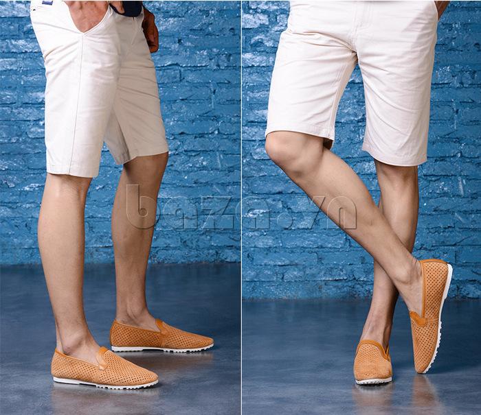 Giày nam Olunpo XMB1501 thoáng mát