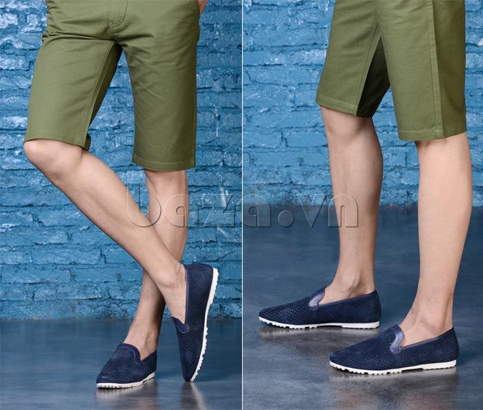 Giày nam Olunpo XMB1501 tinh xảo