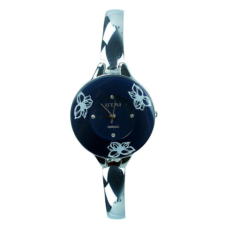 Đồng hồ in hoa Kimio W8063 hoa văn tinh tế