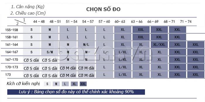 Chọn Đầm ren nữ maxi dài tay Jiumeixuehu JMXHLYQ64 theo kích cỡ
