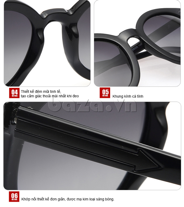Kính mắt nữ Falwedi 8021 - thiết kế tinh xảo