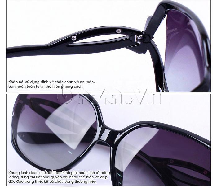 Kính mắt nữ Q&j A166 - thiết kế hoàn hảo
