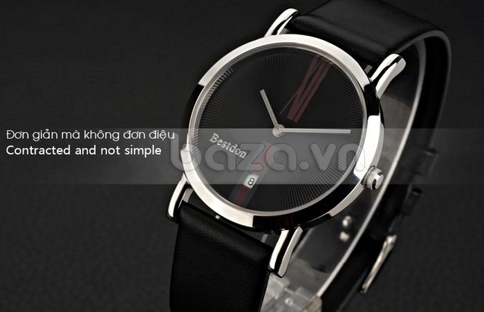 Baza.vn: Đồng hồ nam Bestdon BD9924G - Đơn giản mà không đơn điệu