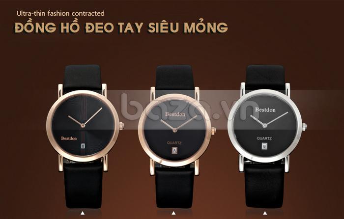 Đồng hồ nam siêu mỏng Bestdon BD9951AG