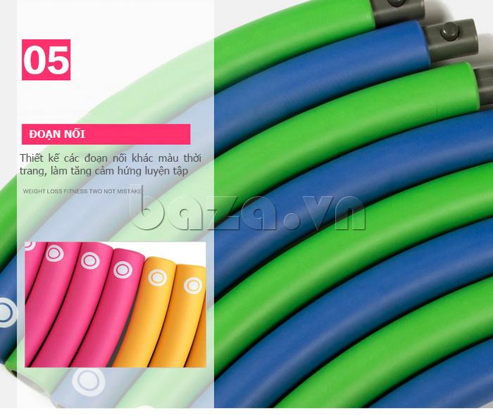 Vòng lắc thể thao phối màu nổi bật EG MK3008 an toàn