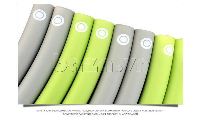 Vòng lắc thể thao phối màu nổi bật EG MK3008 đơn giản
