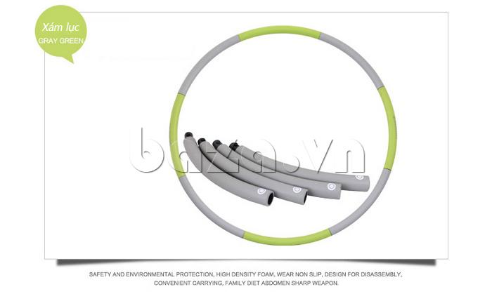Vòng lắc thể thao phối màu nổi bật EG MK3008 gọn nhẹ