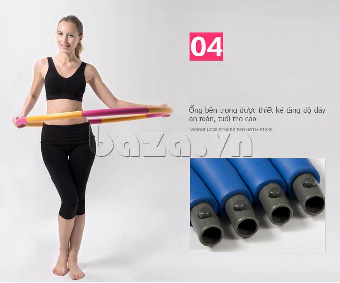 Vòng lắc thể thao phối màu nổi bật EG MK3008 chất lượng cao