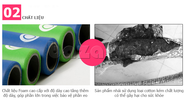 Vòng lắc thể thao  EG MK3008 thân thiện môi trường