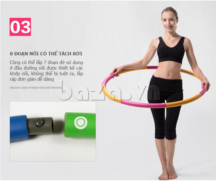 Vòng lắc thể thao phối màu nổi bật EG MK3008  hàng hiệu
