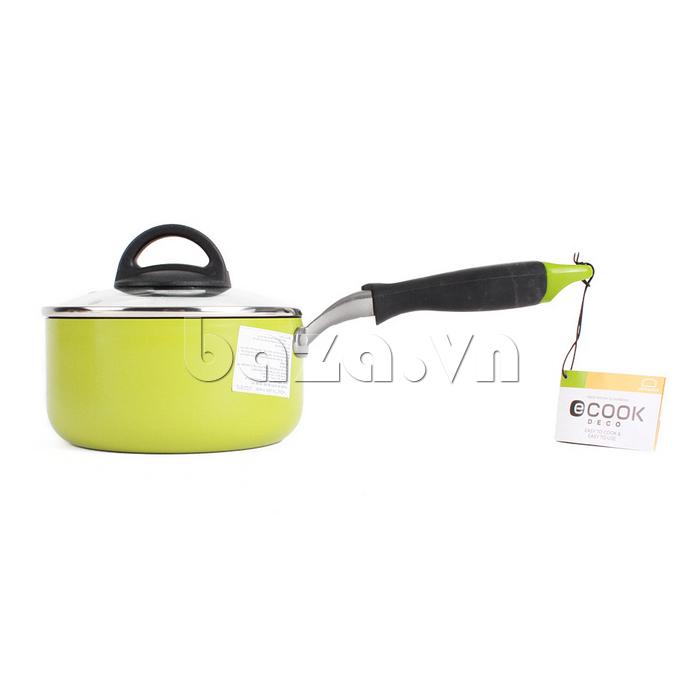 Nồi E-cook Deco Lock&Lock 16cm LED2161  cao cấp