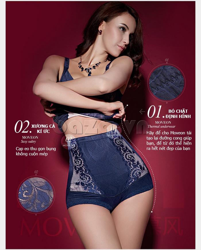 quần lót định hình thu đông cho nữ Moveon MS8479