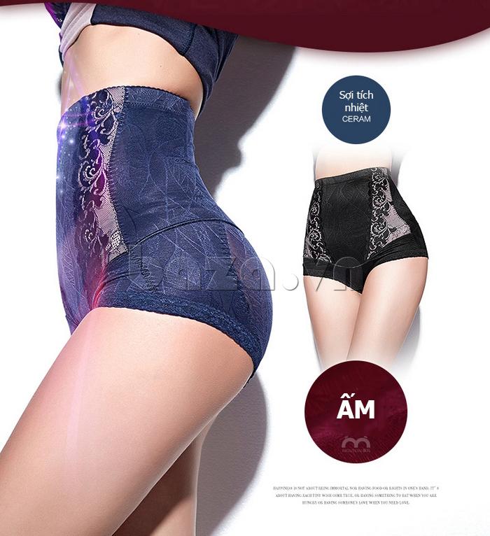quần lót định hình siêu mỏng cho nữ Moveon MS8479