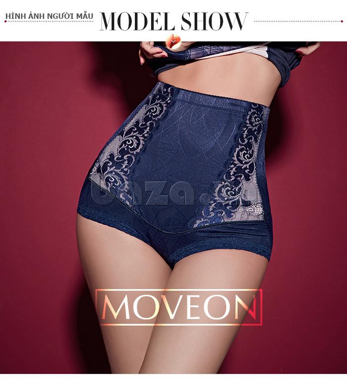 quần lót định hình phủ vải ceramic cho nữ Moveon MS8479