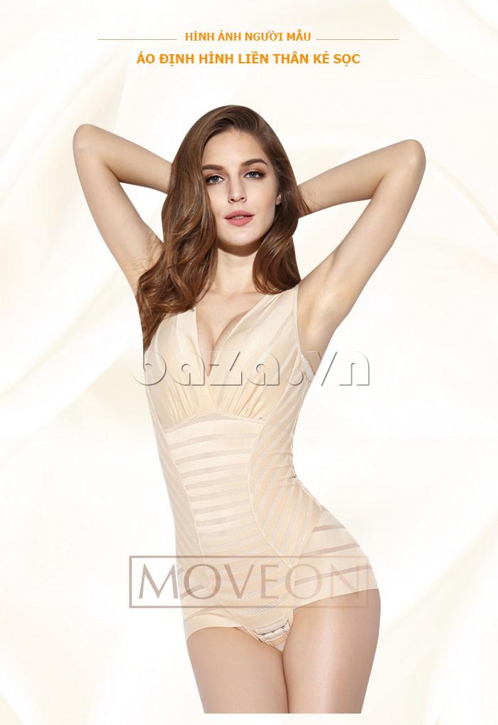 áo định hình liền thân Moveon MS5564 thân hình sexy