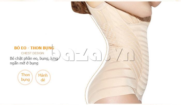 áo định hình liền thân Moveon MS5564 eo thon bụng nhỏ
