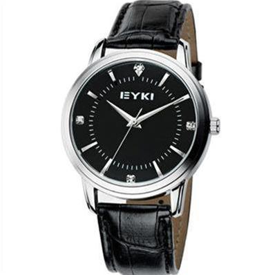 Đồng hồ nam Eyki  (Đen (N1))