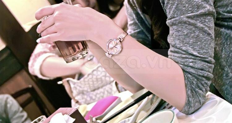 baza.vn: Đồng hồ nữ đẹp Julius Hàn Quốc JA491